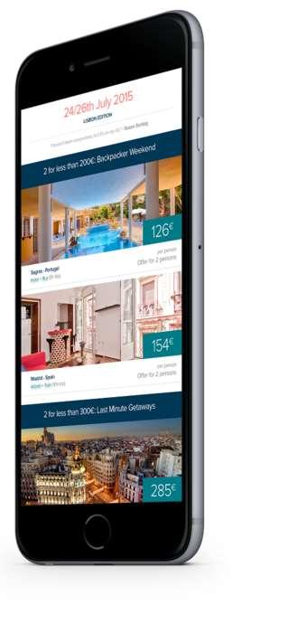Last Minute Travel Apps - This App Helps Users Book Spontaneous Weekend Getaways
