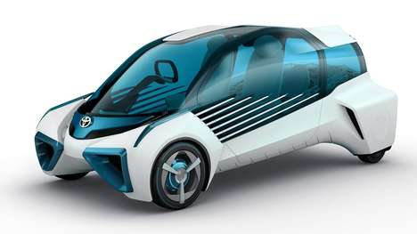 Hydrogen Concept Cars - Toyota's FCV Plus Can Be Used As a General Electricity Generator