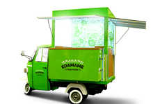 Three-Wheeled Food Trucks