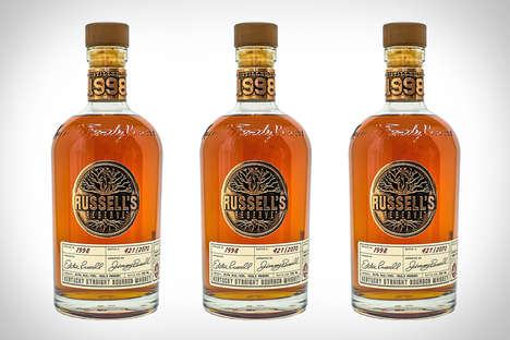 Limited Edition Generational Liquors - Russell's Reserve 1998 Bourbon was Made by Jimmy Russel's Son