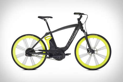 Electric Italian Eco Cycles - The Piaggio Electric Bike is Designed for Millennial Riders