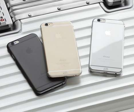 Self-Healing Smartphone Shields - The TENC Case by Just Mobile Heals Scratches and Scrapes