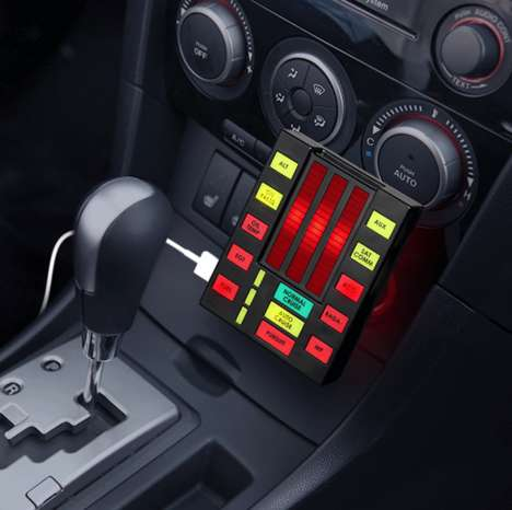 TV Robot-Inspired Chargers - This Knight Rider K.I.T.T. USB Car Charger Adds a Touch of Pop Culture