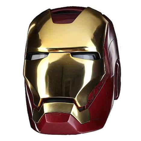 Slick Superhero Masks - The Iron Man Mark VII Helmet is Made to Absolute Precision