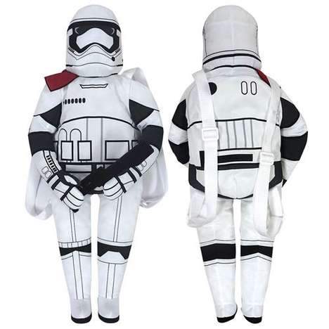 Intergalactic Guard Knapsacks - The Star Wars Stormtrooper Back Buddy Keeps All Your Essentials Safe