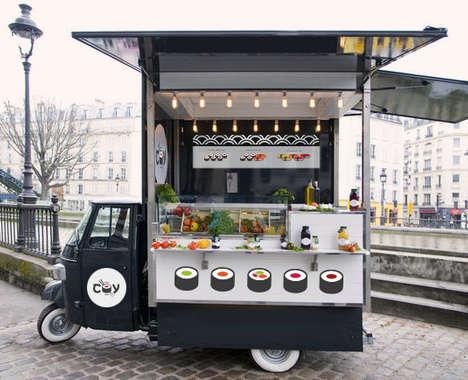 Convenient Sushi Carts