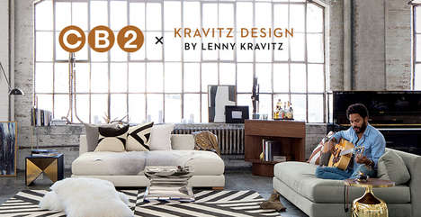 Rock Star Furniture Collections - The CB2 Lenny Kravitz Collection Boasts Edgy and Elegant Pieces