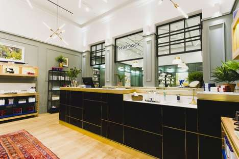 Aristocratic Gentlemen's Salons - The Murdock Soho Salon is a Classic
