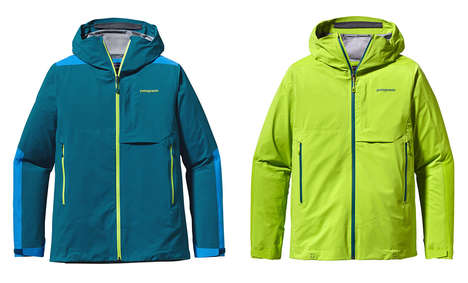 Waterproof Athletic Jackets - The Patagonia Refugitive Jacket is Made for All Sorts of Adventuring