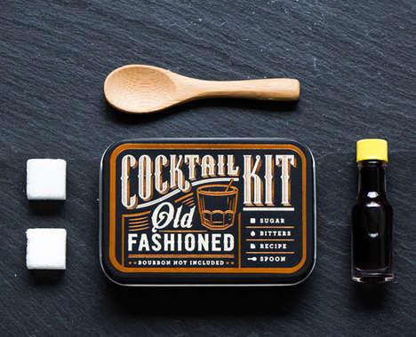 Pocket-Sized Cocktail Kits