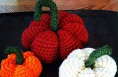 Autumnal Crotchet Pumpkins