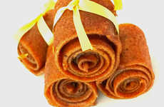 Spiced Pumpkin Fruit Leathers