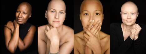 Chemotherapy Patient Portraits - Photographer Robert Houser Unveils the 'Facing Chemo' Project