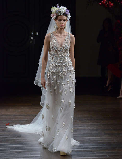 Latin Bridal Collections - This Bohemian Naeem Khan Fall Collection Promotes Latin Beauty