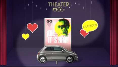 10 Cinematic Car Marketing Stunts - These Creative Car Ads Make Use of Immersive Theaters