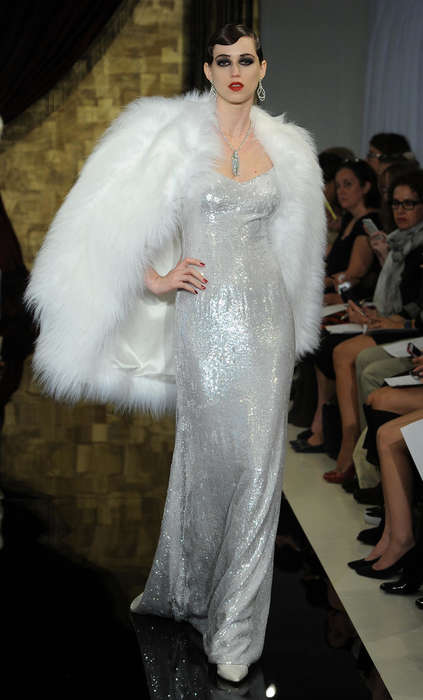 Flapper-Friendly Bridal Couture - The Theia Fall Collection Promotes Sassy Style From the 1920s