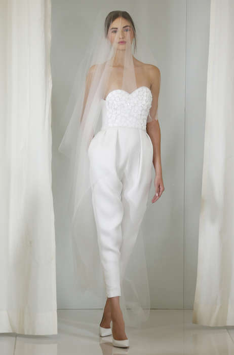 Youthful Bridal Couture - The Angel Sanchez Fall Collection Features Unexpected Frocks