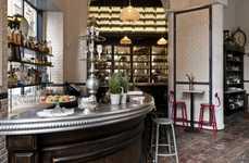 Authentic Parisian Bistros - The 'Caffè Propaganda' Design Honors the Elegance of Parisian Eateries