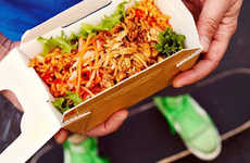 Fast Food Rice Boxes - These Rice-Based Dishes Offer a Healthy Alternative to Fried Chicken