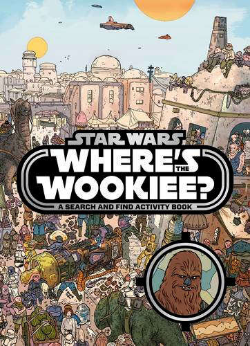 Sci-Fi Search Books - This Star Wars Where's the Wookiee Book is Fun for Kids and Fans