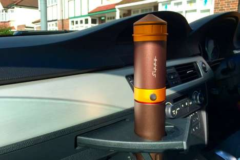Portable Espresso Machines - The 'Sippy' is a Brewer and Container for Perfect Coffee to Go