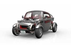 The Toyota Kikai Concept Car's Inner Workings Are Clearly Visible