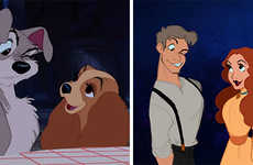 Anthropomorphic Disney Animals