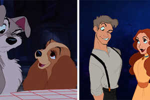 These Iconic Animated Characters are Re-Imagined in Human Forms