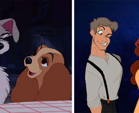 Anthropomorphic Disney Animals