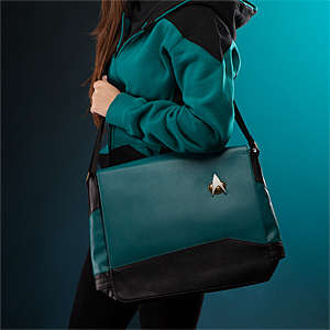 Galactic Messenger Bags - These Stylish Satchels are Inspired by the Star Trek Division Colors