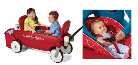 Infant-Cradling Wagons - The 'Comfort Embrace Wagon' is Designed to Comfortably Carry New Babies
