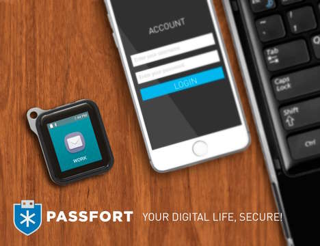Password-Protecting Keychains - The Passfort Will Keep Your Sensitive Data Safe From Hackers