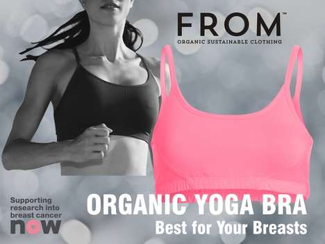 Detoxifying Organic Bras - This Yoga Bra Provides a Comfortable Alternative to National No Bra Day