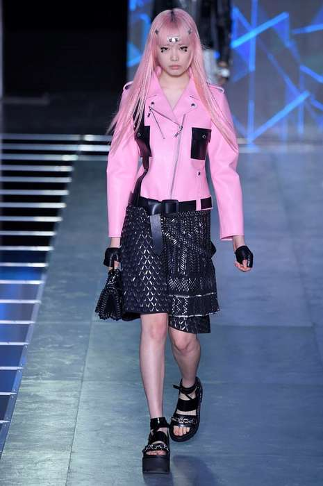 Futuristic Anime Apparel - The Louis Vuitton Spring/Summer Collection Portrays Funky Manga Style