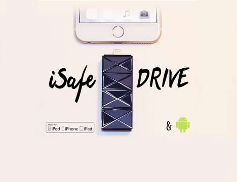 Smartphone Storage Drives - The iSafe Drive Makes Expanding the Storage of Your Device Easy
