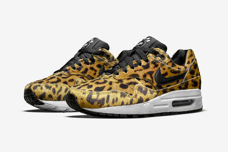 Zoo-Inspired Shoes - This Nike Quickstrike Pack is a Menagerie of Tiger, Zebra and Leopard Sneakers