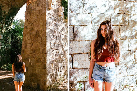Ethereal Italian Photoshoots - This Dreamy Editorial Celebrates Summer and the South of Italy