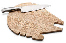 Spaceship Cutting Boards