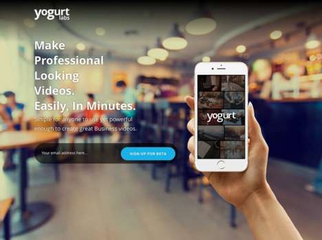 Professional Video-Making Apps - This Mobile Application Helps Business Create Impactful Videos