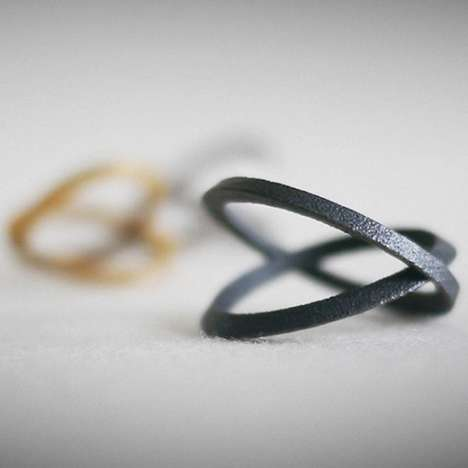 Bottle-Opening Rings - This Bottle Opener Ring Collection is Both Elegant and Practical