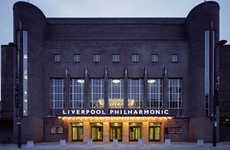 Historic Theater Remodels - The Liverpool Philharmonic Hall Will Reopen as a Theater and Cinema