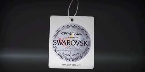 Celebratory Crystal Films - The Swarovski Brand Celebrates Its 120th Anniversary with a Video Series
