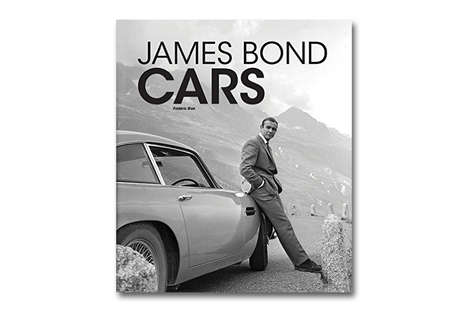 Superspy Car Catalogs - This Photographic Book Documents the Illustrious History of James Bond Cars