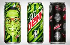 Basketball Athlete Sodas - These Limited Edition Mountain Dew Cans Feature Russell Westbrook