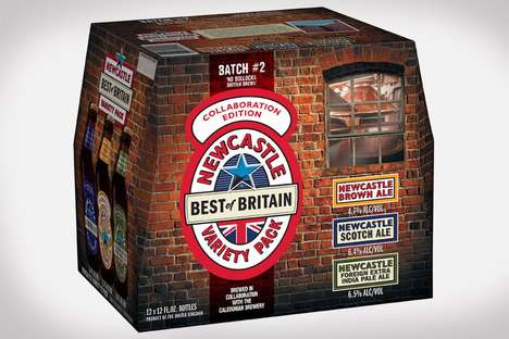 English Ale Variety Packs - The Newcastle Best of Britain Variety Pack Features Limited Edition Ales