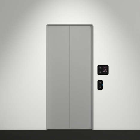 Modern Intuitive Elevators - This Elevator Replaces Buttons with an LCD Touch Screen Panel