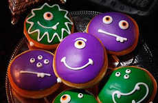 Monstrous Halloween Donuts - These Spooky Confections are Decorated with Monster Faces