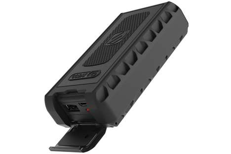 Rugged Portable Batteries - The goBAT 6000 Battery Shakes Off Drops, Dust and Dives