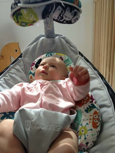 App-Connected Baby Swings - This Smart Baby Accessory Can be Customized to Play Music
