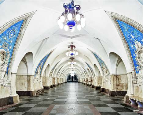 Opulent Metro Stations - This Photo Series Reveal the Palatial Subway Stations in Russia